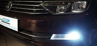 Installera LED-dimljus Passat B8